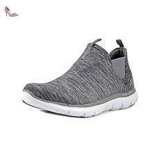 515e4fff56045 Skechers Flex Appeal 2.0 High Card Femmes US 9.5 Gris Baskets - Chaussures  skechers (
