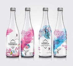 Mount Franklin Spring Water McGrath Foundation on Packaging of the World - Creative Package Design Gallery