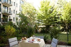 Fürhstück im Garten // Breakfast in the garden Patio, Breakfast, Outdoor Decor, Lawn And Garden, Morning Coffee, Terrace