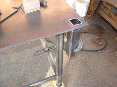 How to A Build Welding Table – Metal Welding Welding Bench, Welding Table Diy, Welding Cart, Welding Jobs, Metal Welding, Welding Shop, Metal Projects, Welding Projects, Welding Ideas