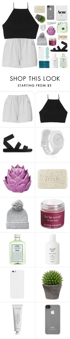 """-- kiss me with your fist, it's alright"" by feels-like-snow-in-september ❤ liked on Polyvore featuring Whistles, rag & bone, Nixon, Zara Home, Fresh, Pieces, Sara Happ, John Allan's, Broste Copenhagen and Byredo"