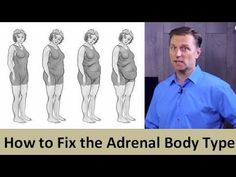 How To Fix Your Adrenal Body Type - YouTube