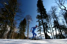 Raido Rankel of Estonia competes on the fourth leg of the Cross Country Men's 4 x 10 km Relay (c) Getty Images Country Men, Winter Games, Cross Country Skiing, Winter Pictures, Winter Olympics, Olympic Games, Four Legged, Photo Galleries, History