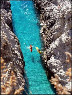 Kayaking in Capo Vaticano, #Italy
