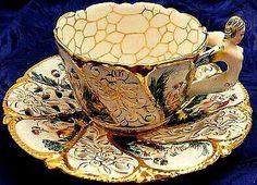Serwis(KUBEK+PODSTAWKA) do herbaty 3D