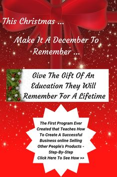The Challenge for Affiliate Marketing Step Program, First Ever, Selling Online, Other People, Affiliate Marketing, Online Business, December, Success, Teaching
