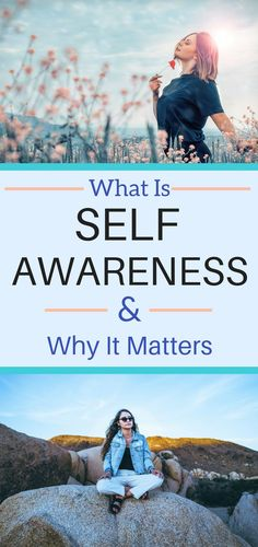 What is self awareness and why it matters? These steps will help you get more self aware and show you why it matters. What Is Mental Health, Mental Health Awareness, Self Awareness Quotes, Self Awareness Definition, Self Development, Personal Development, Spiritual Development, What Is Self, What Is Love