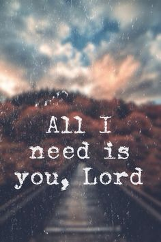 All I need is YOU!                                                                                                                                                                                 More
