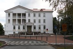 An old hospital serves nowadays as the Musical Institute of Ostrobothnia. Also the Sibelius Academy has some functions here.