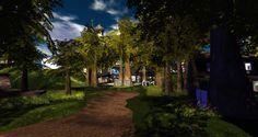 Morning Dew, Secret Places, Lush Green, Sidewalk, Country Roads, Fantasy, Explore, World, Side Walkway