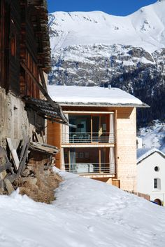 #Modern #Cabin | Leis | Peter Zumthor