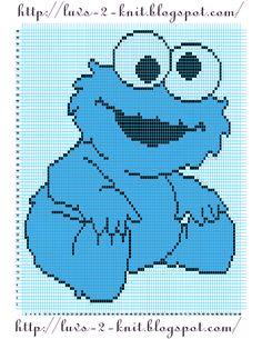 Cro Knit Inspired Creations By Luvs2knit: Sesame Street Crochet Chart Pattern By Luvs2knit