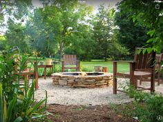 Summer is here! So, it's a perfect time to create something awesome with these rustic DIY fire pit, backyard projects and garden ideas to enjoy this warm and nice weather with your family and friends. These rustic DIY fire pit… Continue Reading → Fire Pit Ring, Diy Fire Pit, Fire Pit Backyard, Backyard Patio, Backyard Landscaping, Fire Pits, Landscaping Ideas, Pallet Patio, Backyard Stream