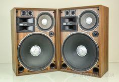 Vintage Sansui speakers. Pardon me while I Salivate.