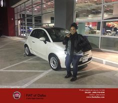 https://flic.kr/p/ATjf6w | Congratulations Krista on your #FIAT #500 from Donald Walker at Fiat of Dallas! | deliverymaxx.com/DealerReviews.aspx?DealerCode=F741