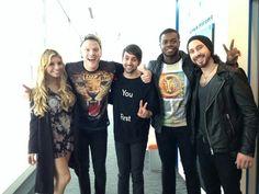 Scott and Mitch always have the weirdest shirts, I swear