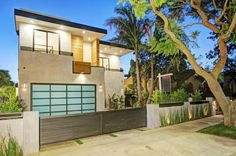 Laurel is a private home designed by Amit Apel Design. Photos courtesy of Amit Apel Design Share your Thoughts Modern Exterior, Exterior Design, Style At Home, Wooden Fence, Garden Fencing, Fence Design, Cool House Designs, Home Interior Design, Architecture Design