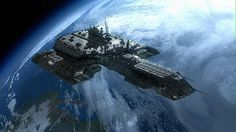 Stargate - Earth (Tau'ri) - Daedalus: A powerful ship, given the limited technology Earth had at the time of its commission. It eventually incorporated upgrades of Asgard ingenuity. Stargate Atlantis, Stargate Ships, Alien Spaceship, Spaceship Design, Interstellar, Cosmos, Science Fiction, Sci Fi Spaceships, Sci Fi Ships