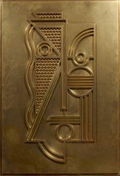 Roy lichtenstein (1923-1997) modern head relief, 1970 laiton. bas-relief signé, daté et numéroté 42/100 sur une plaque au dos. edition gemin...