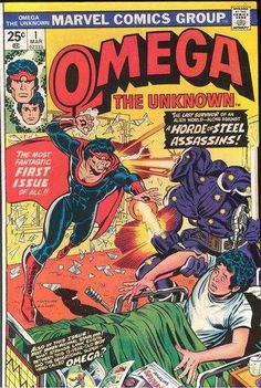 Omega the Unknown  1976 series   Get all 10 issues