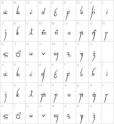 Elvish writing; Yay! Oh, yay!!!