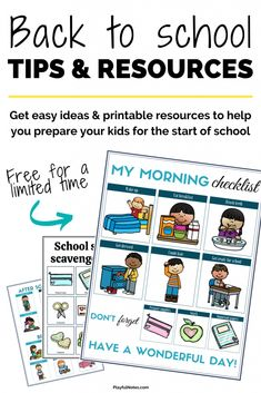 Back to School series: Easy tips and ideas that will help you prepare kids for the start of school