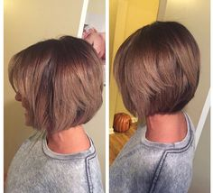 Brown and pearl ombre