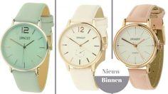 Nieuw in het assortiment horloges merk Ernest