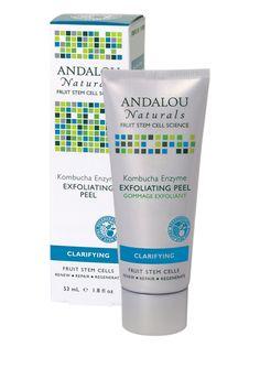Andalou Naturals BTS Essential:  Kombucha Enzyme Exfoliating Peel   #andalounaturals #backtoschool #pintowin