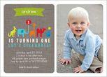 Baby Boy First Birthday Invitations & Boy 1st Birthday Invites | Shutterfly