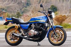 Kawasaki Z 1000J by Top End