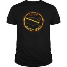 US Solar Eclipse 2017 T Shirt