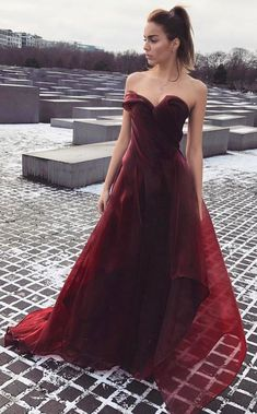 Charming Prom Dress,Burgundy Prom Dress,Sexy Evening Dresses,A Line Prom Dresses,Long Party Dress,Sweetheart Prom Gown #burgundy #winered #prom #charming #okdresses