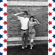 My girlfriend as Peggy Carter and me as Steve Rogers (pre serum of course because I'm scrawny) at Alamo City Comic Con on Saturday. ------ #cosplay #captainamerica #steverogers #peggycarter #marvel #accc2016 #alamocitycomiccon2016