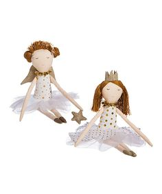 Look at this Tooth Fairy 9'' Doll Set on #zulily today!