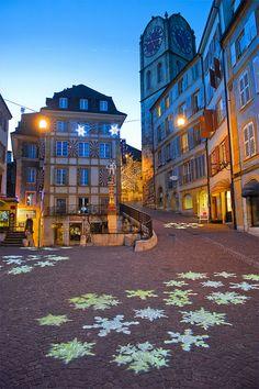 Light Festival in Neuchâtel. December 30, 2013. No. 3030. | Flickr - Photo Sharing!