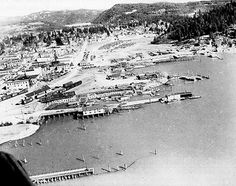 COEUR d'ALENE - Kids haven't always played ball at McEuen Field. Where diamonds now lie dormant under wint Our Town, Coeur D'alene, Idaho, East Coast, Post Card, History, Places, Trains, 1950s