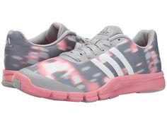 ADIDAS ORIGINALS ADIDAS - A.T. 360.2 PRIMA (CLEAR ONIX/SUPER POP PINK) WOMEN'S CROSS TRAINING SHOES. #adidasoriginals #shoes #