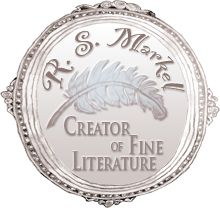 "The R. S. Markel crest from R. S. Markel's Literary Adventure Series, ""Lillybeth and Hinsberth."" http://www.rsmarkel.com"