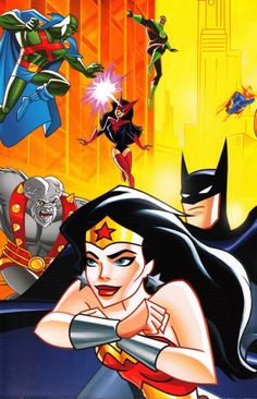 Justice League Unlimited, Art by Bruce Timm