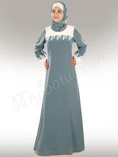 Buy Beautiful Sajidah Abaya at MyBatua | www.mybatua.com