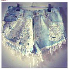 DIY shorts <3
