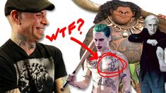 Professional Tattoo Artists Judge Tattoos From Movies - YouTube