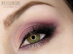 Purple Smokey &Glitter Liner♡