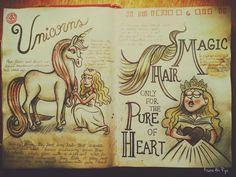 Unicorns - Journal 1 Gravity Falls by KisaraAkiRyu on DeviantArt