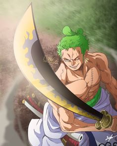 Roronoa Zoro Zorojuro SStraw Hat Pirates Mugiwaras Wano One Piece One Piece Anime, Zoro One Piece, Anime One, Manga Anime, Anime Couples Manga, Cute Anime Couples, Anime Girls, Roronoa Zoro, Walpaper One Piece