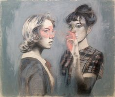 Mercedes Helnwein - Two Girls