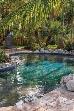 Having a pool sounds awesome especially if you are working with the best backyard pool landscaping ideas there is. How you design a proper backyard with a pool matters. Backyard Pool Landscaping, Backyard Pool Designs, Small Backyard Pools, Outdoor Pool, Landscaping Ideas, Landscaping Equipment, Landscaping Edging, Florida Landscaping, Coastal Landscaping