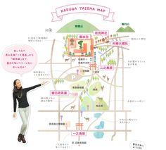 春日大社マップ