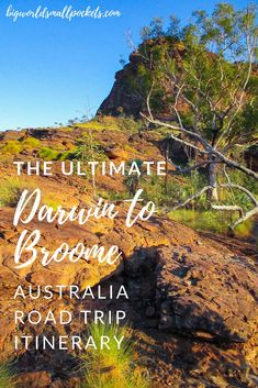The ultimate Darwin to Broome Australia Road Trip itinerary! {Big World Small Po … – Road Trip Travel – Road Trip Broome Australia, Western Australia, Travel Guides, Travel Advice, Travel Tips, Outback Australia, Darwin Australia, Australia Travel Guide, Australia Trip